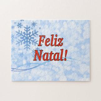 Feliz Geburts-! Frohe Weihnachten in Puzzle