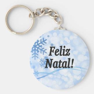 Feliz Geburts-! Frohe Weihnachten in Schlüsselbänder
