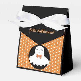 """""""Feliz Halloween/glücklichen Halloweens"""" Geschenkschachtel"""