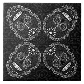 Feliz Muertos - festliche Keramikfliese