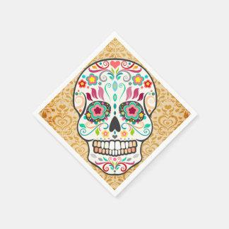 Feliz Muertos - festlicher Papierserviette