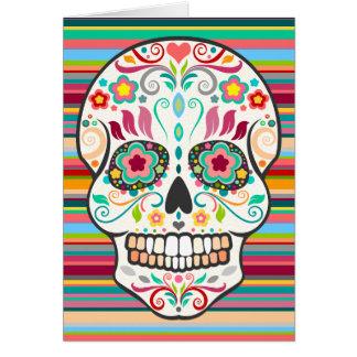 Feliz Muertos - glücklicher Karte