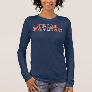 FELIZ NAVIDAD 01 LANGARM T-Shirt