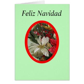 Feliz Navidad-4b Karte