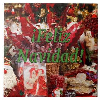 ¡ Feliz Navidad! Frohe Weihnachten im spanischen Fliese