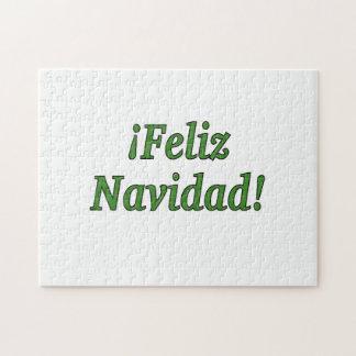 ¡ Feliz Navidad! Frohe Weihnachten im spanischen Puzzle