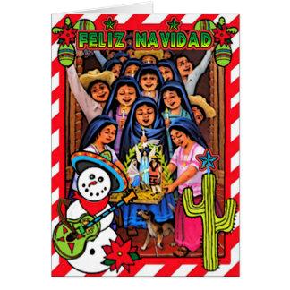 Feliz Navidad Karte