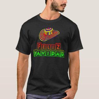 Feliz Navidad mit Sombrero-WeihnachtsShirt T-Shirt