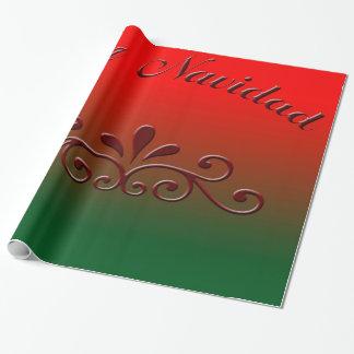 Feliz navidad Packpapier