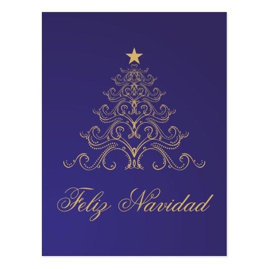 Feliz Navidad Postkarte