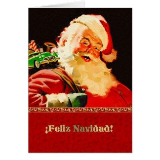 Frohe weihnachten spanisch gru karten einladungen - Weihnachtskarte spanisch ...