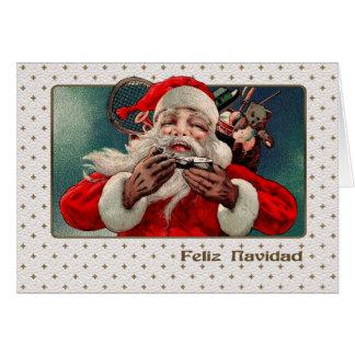 Feliz Navidad. Spanische kundengerechte Karte