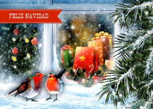 Weihnachtsgrüße Auf Spanisch.Guten Rutsch Ins Neue Jahr Auf Spanisch Karten Zazzle De