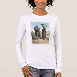 Fellah-Mann und Frau, Illustration 'vom Valle Langarm T-Shirt