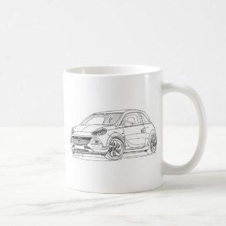 Felsen 2015 Opels Adam Kaffeetasse