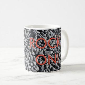 FELSEN AN - 11 Unze-Klassiker-Tasse Kaffeetasse