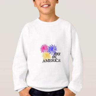 Felsen an, Amerika! Sweatshirt