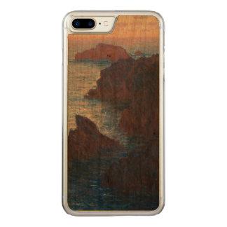Felsen an der Schönheit-lle, Hafen-Domois durch Carved iPhone 8 Plus/7 Plus Hülle