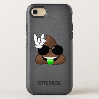 Felsen auf coolem kacken Emoji iPhone Fall OtterBox Symmetry iPhone 8/7 Hülle