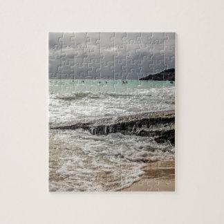 Felsen auf dem beach02 puzzle
