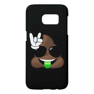 Felsen auf Emoji kacken