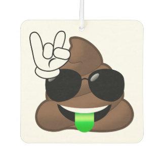 Felsen auf Emoji kacken Autolufterfrischer
