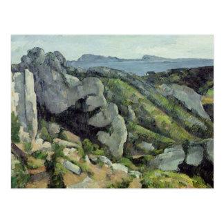 Felsen bei L'Estaque, 1879-82 Postkarte