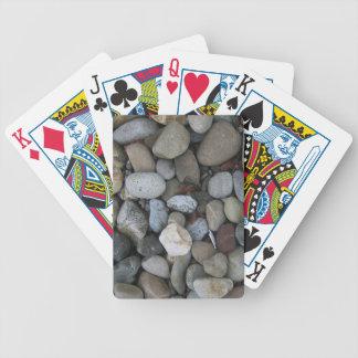 Felsen-Beschaffenheits-Schablone Bicycle Spielkarten