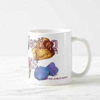 Felsen, der FELSEN sammelt Kaffeetasse