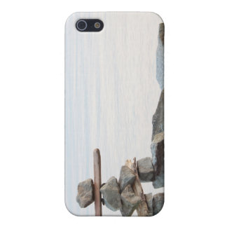 Felsen durch Strand iPhone 5 Etui
