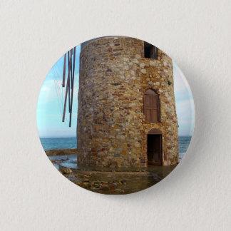 Felsen-Entwurf Runder Button 5,1 Cm