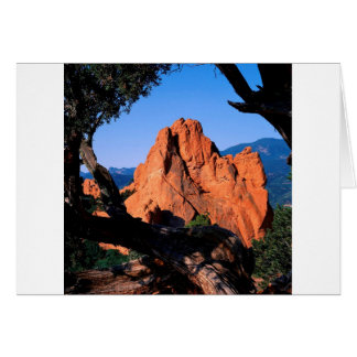 Felsen-Garten-Götter Colorado Karte