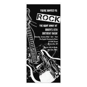 Rock Einladungen Zazzle De