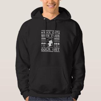 Felsen heraus hoodie