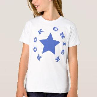 FELSEN-KÜKEN | Marine-blauer Stern-Mädchen-T - T-Shirt