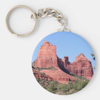 Felsen nähern sich Sedona, Arizona Schlüsselanhänger