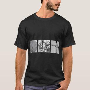 Felsen-Papierschere-T - Shirt