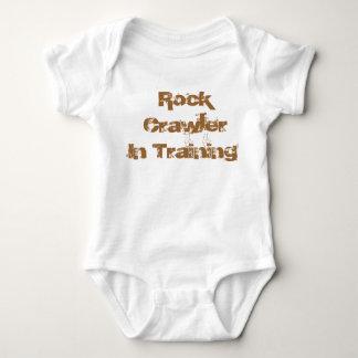 Felsen-Raupe in der Traing Säuglingsabnutzung Baby Strampler