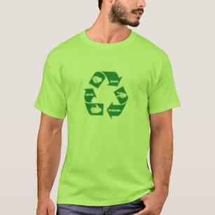 Felsen-recyceln Papierscheren ~ T - Shirt