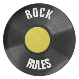 Felsen-Regeln Teller