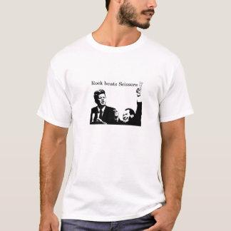 Felsen schlägt Scheren JFK/Nixon T-Shirt