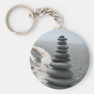 Felsen-Stapel Schlüsselanhänger