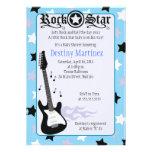 FELSEN-STERN-12x18 Rocker-Baby-Duschen-Einladung