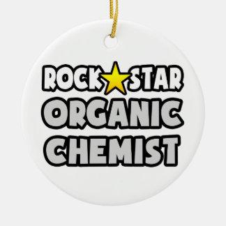 Felsen-Stern-Bio Chemiker Weinachtsornamente