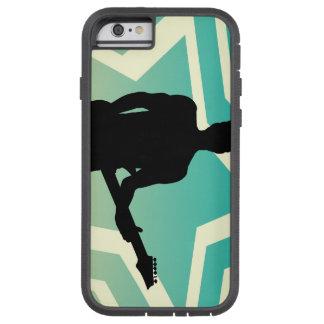 Felsen-Stern darstellend mit Gitarre auf Tough Xtreme iPhone 6 Hülle
