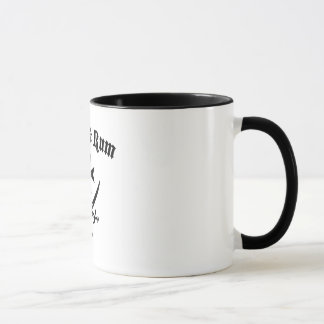 Felsen u. Rum Tasse