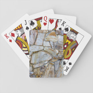 Felsen-Wand-Beschaffenheits-Foto auf Cardstock Spielkarten