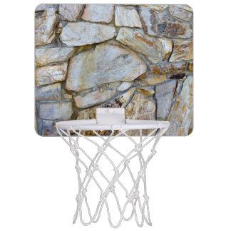 Felsen-Wand-Beschaffenheits-Foto auf Mini Basketball Ring