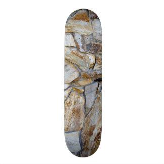 Felsen-Wand-Beschaffenheits-Foto Personalisiertes Skatedeck