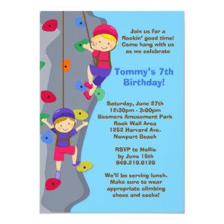 einladung klettern kindergeburtstag – cloudhash, Einladungsentwurf